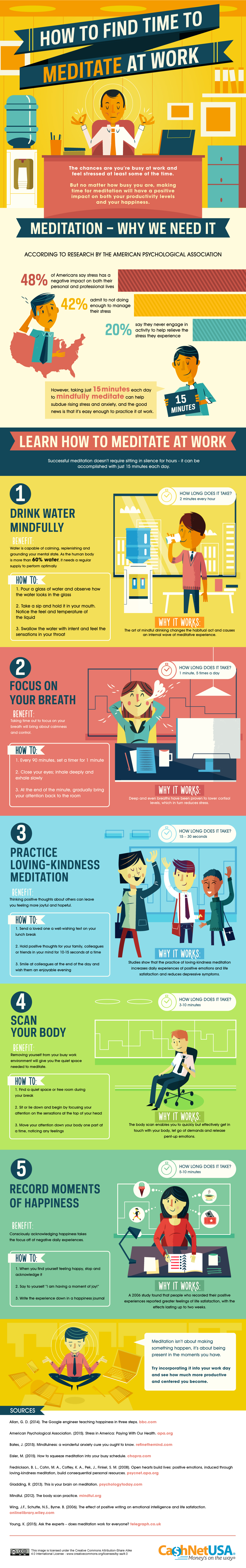 How To Bring Meditation Into The Workplace (INFOGRAPHIC)