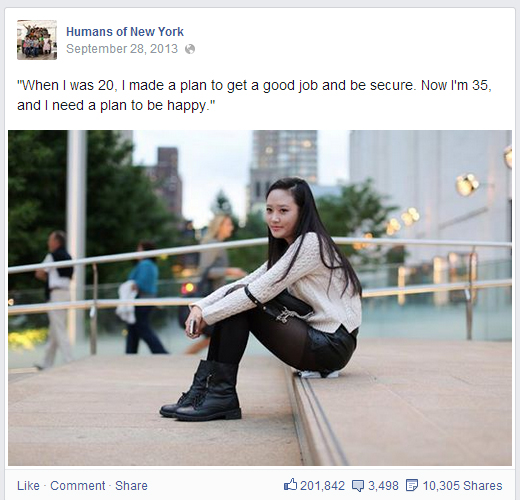 Career Advice From Humans of New York