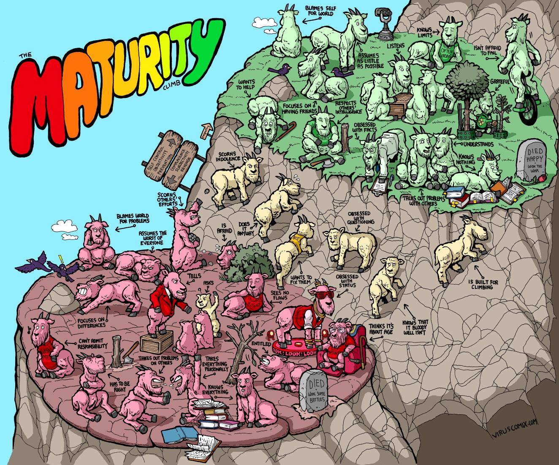 The Maturity Climb (A Visualization)