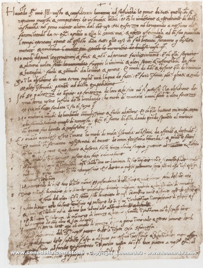 3 Resume Secrets Worth Stealing From Leonardo da Vinci's CV